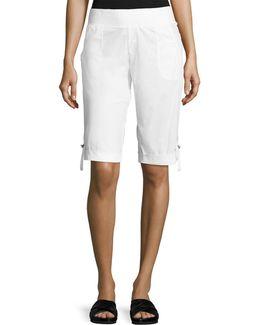 Enyo Tab-cuff Shorts