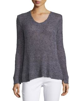 Britta Loose-weave Sweater