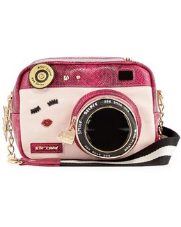 Close Up Camera Crossbody Bag