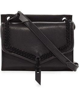 Ami Leather Mini Crossbody Bag