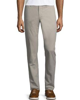 Basic Twill Five-pocket Pants