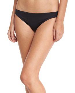 Solid Bikini Swim Bottoms