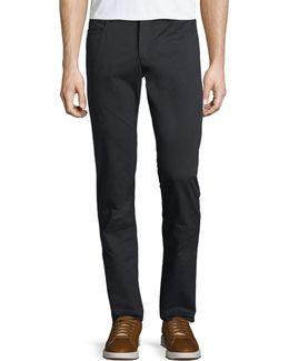 Stretch Twill Five-pocket Pants