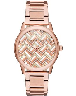 38mm Hartman Glitz Bracelet Watch