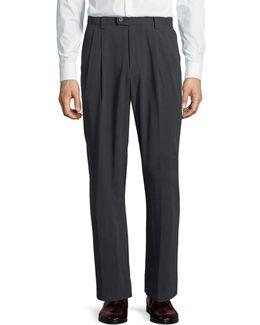 New St. Thomas Double-pleat Standard-fit Pants