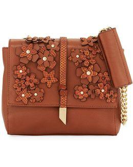 Dahlia Flower Chain Shoulder Bag