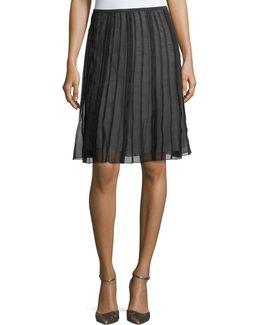 Batiste Flirt Pleated Skirt