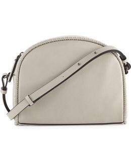 Marlee Halfmoon Stitched Crossbody Bag