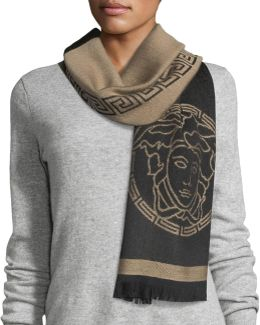 Middle Maze Wool Scarf