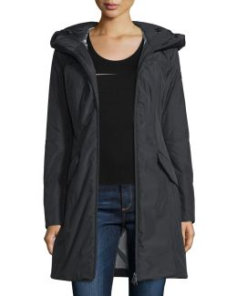 Hooded Zip-front Parka