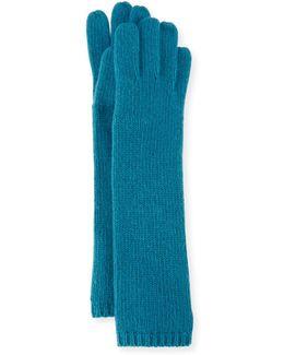 Long Cashmere Tech Gloves