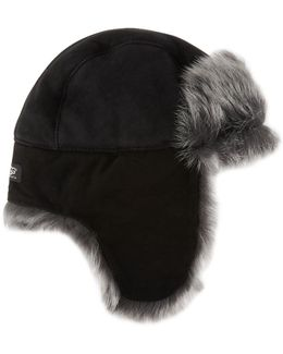 Toscana Long-pile Fur Trapper Hat