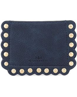 Scalloped Pebbled Card Case