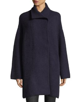 Avril Cashmere-blend Sweater Coat