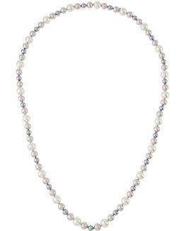 8-12mm Nuage Simulated Pearl Necklace