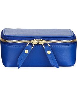 Large Leather Jewelry Case