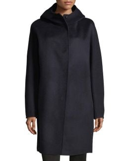 Letav New Divide Wool-cashmere Car Coat