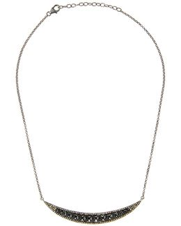 Champagne Diamond & Spinel Pendant Necklace