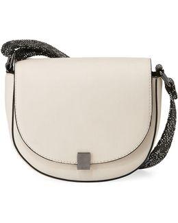 Mia Smooth Saddle Bag