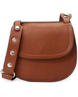 Celia Smooth Saddle Bag