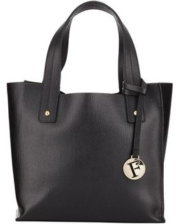 Muse Small Leather Tote Bag