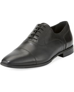 Calf Leather Eyelet Oxford