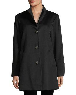 Stand-collar Car Coat