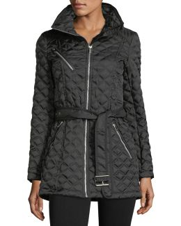 Cassidy Chain-link Quilted Jacket