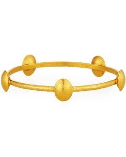 Lentil 24k Bangle Bracelet