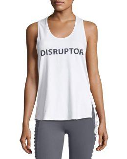 Disruptor Side-tie Tank Top
