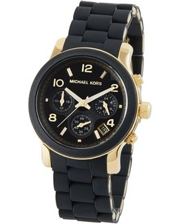 38mm Midsized Pu Chronograph Watch