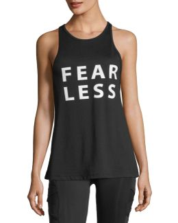 Fearless Mesh-back Tank