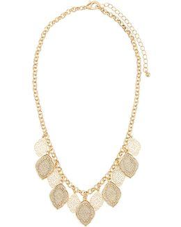 Filigree Short Collar Necklace