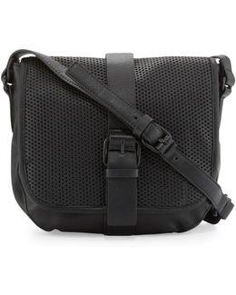 Edie Perforated Crossbody Bag