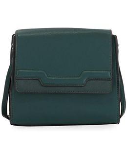Iris Faux-leather Crossbody Bag