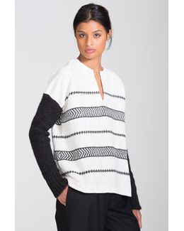 Yohannes Knit Sleeved Pullover