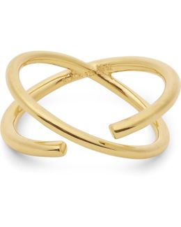 Gold-plated Twin Ring