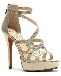 Bellanne Suede Platform Sandals