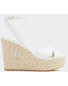Rope Heel Wedge Sandals
