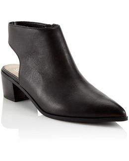 Sling Back Ankle Boots