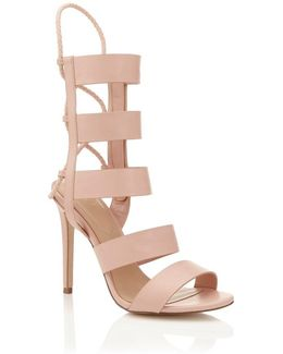 Cage High Heeled Sandals