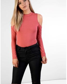 Cold Shoulder Body Top