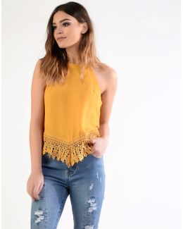 Crochet Halterneck Top
