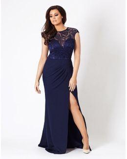 Jessica Wright Lace Slim Fit Maxi Dress