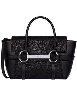 Small Flapover Tote Bag