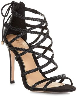 Plaited Strappy Sandals