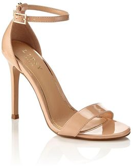 Barely There Two Strap Sandals