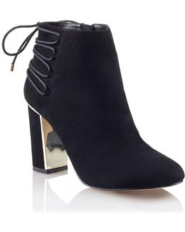 Tie Up Ankle Boots