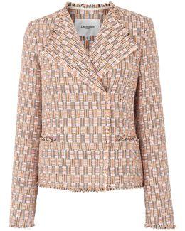 Heather Natural Cotton Mix Jacket