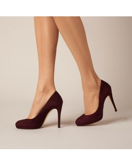 Sledge Oxblood Suede Courts